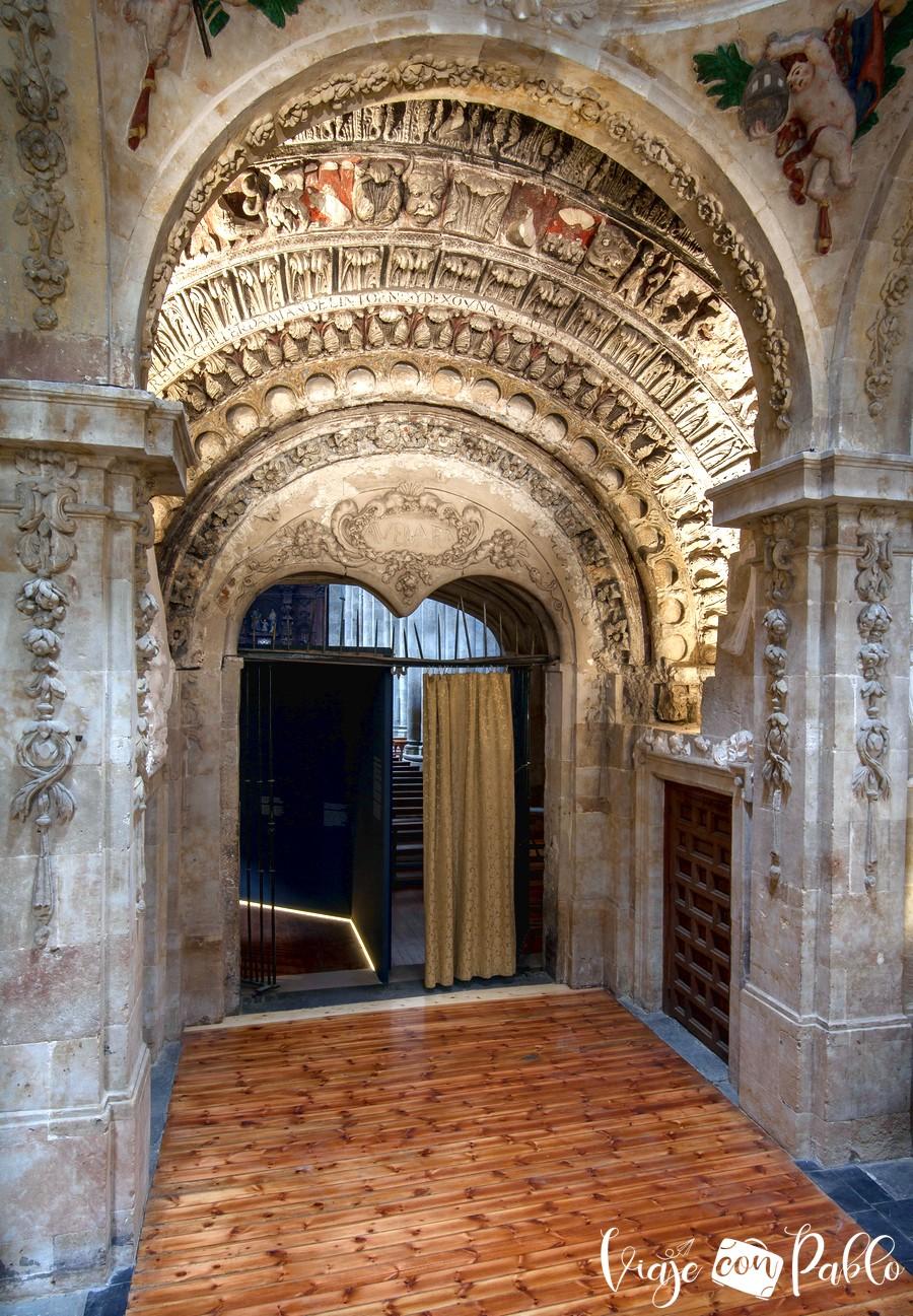 Puerta de los Perdones de la iglesia de San Martín
