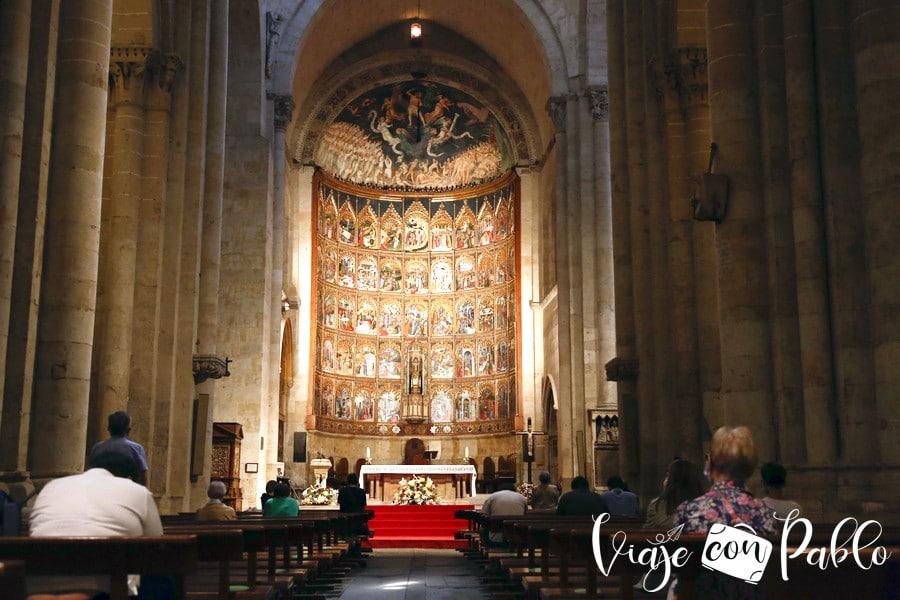 Retablo de la Catedral Vieja de Salamanca
