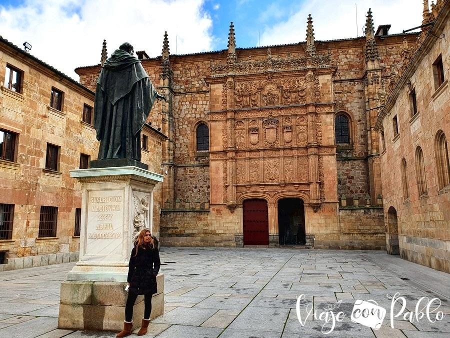 Patio de Escuelas Mayores y Edificio Histórico de la Universidad de Salamanca