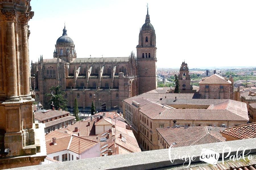 Vista de las catedrales desde Scala Coeli
