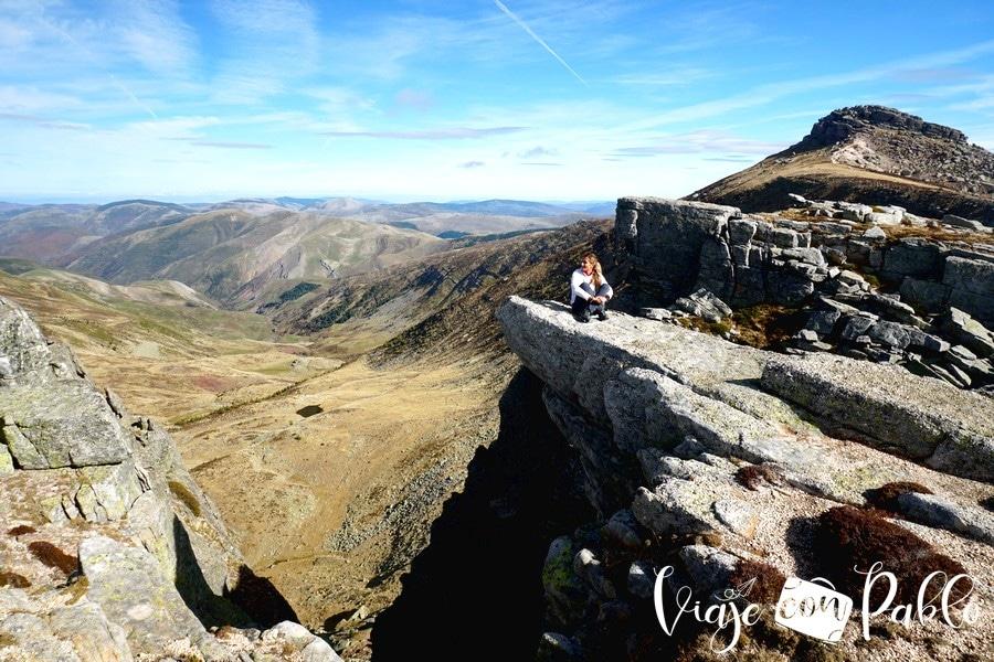 Proximidades del pico Urbión justo en el límite de Soria y La Rioja