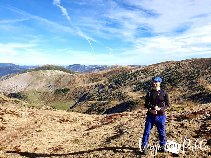 Vista de la vertiente riojana de los Picos de Urbión
