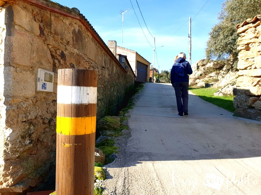 Señalización de la ruta de los Molinos y el mirador de Las Barrancas