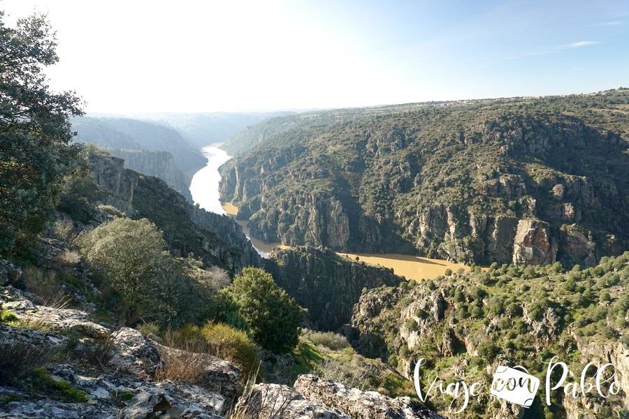 Vistas desde el mirador de Las Barrancas