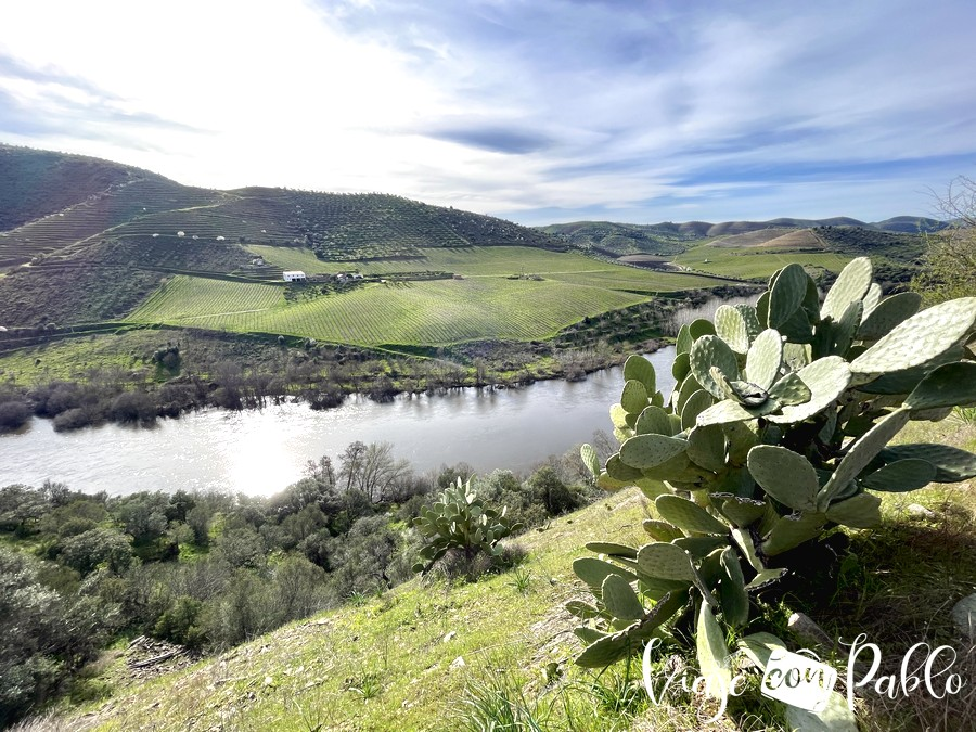 El Águeda y Portugal desde el Camino de Hierro