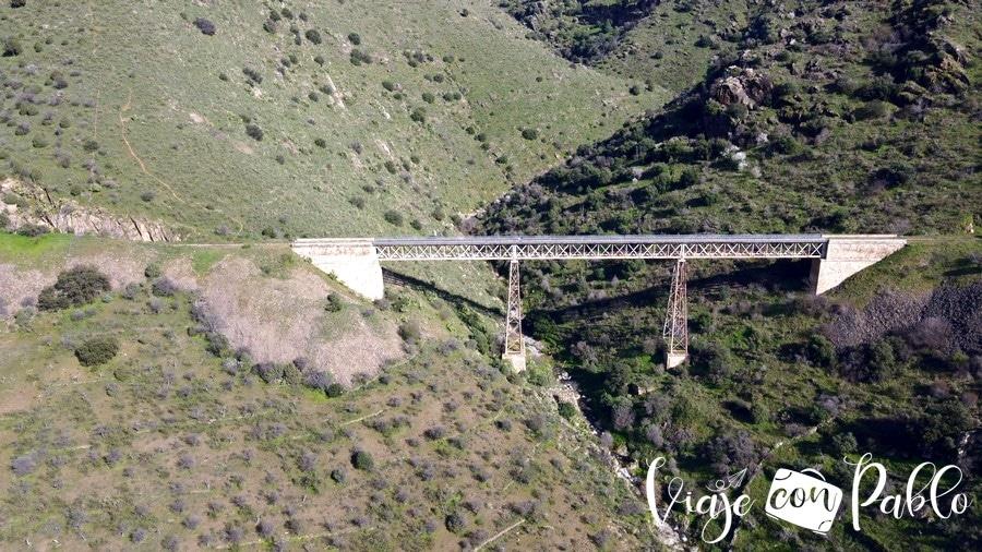 Puente de Los Poyos camino de hierro