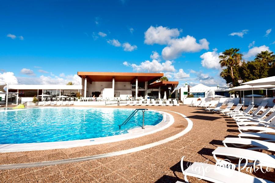 Una de las piscinas del complejo de Hyde Park Lane