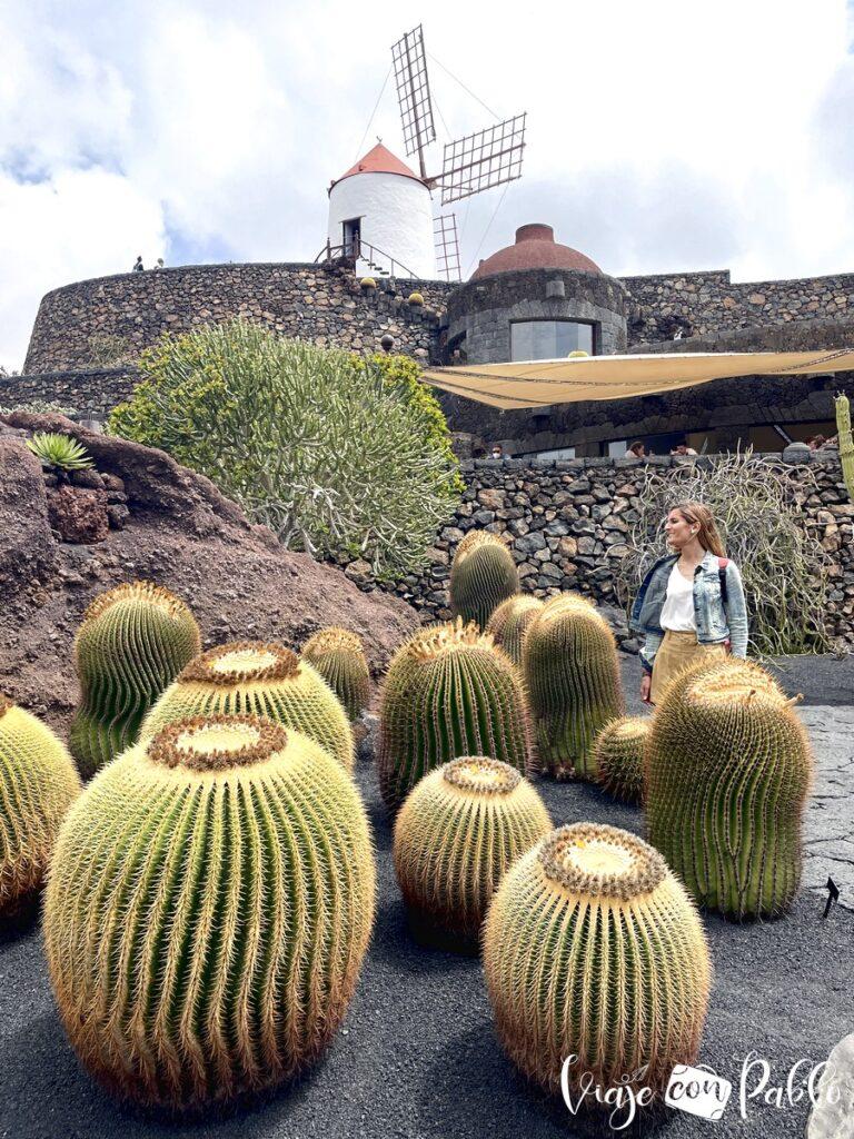 Jardín de cactus que ver en lanzarote