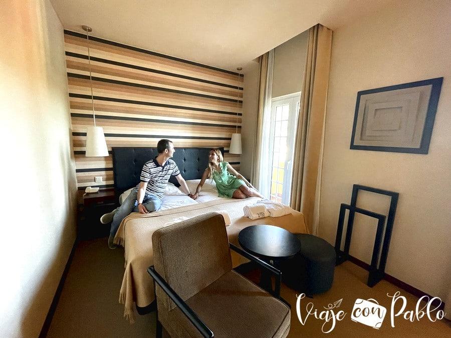 Nuestra habitación en el Grande Hotel de Luso