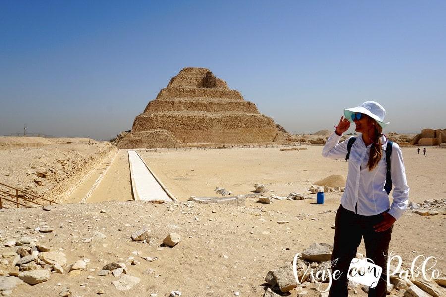 Pirámide Escalonada de Zoser visitar Saqqara