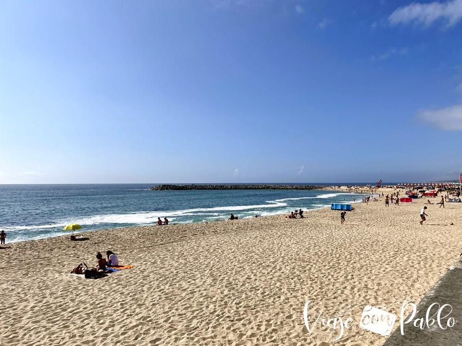 Praia da Baía que ver en Espinho