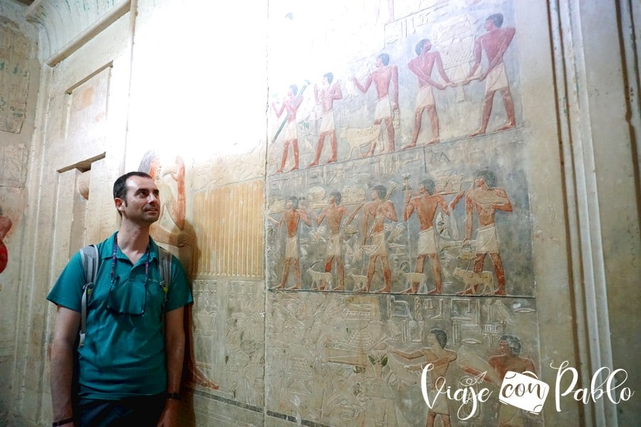 Tumba de Akhethotep y su hijo Ptahhotep