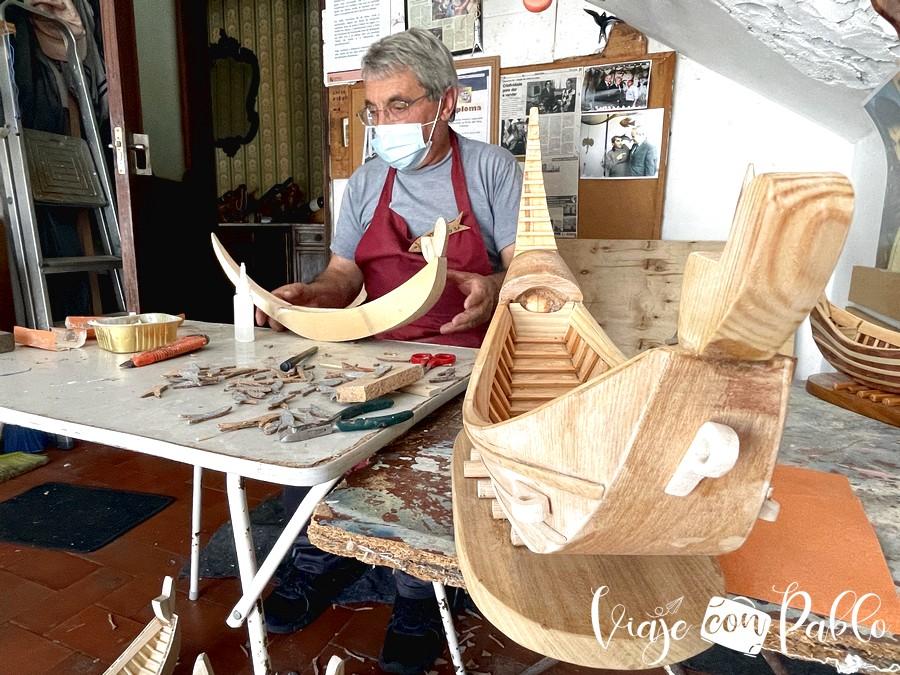 Herculano Alves en su taller