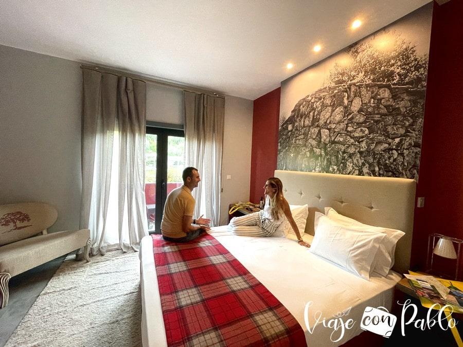 Nuestra habitación del hotel rural da Catraia