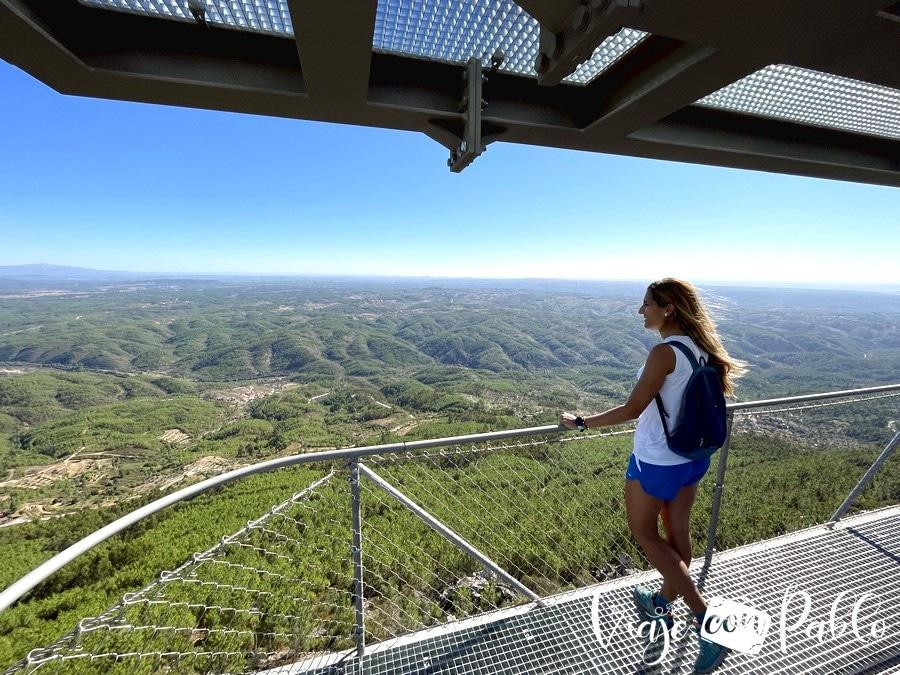 Vistas desde la Torre de Vigia de la Serra das Talhadas
